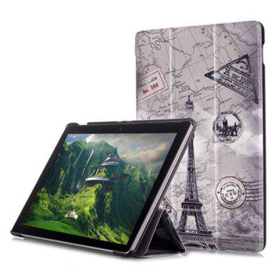 Painted Three Fold  Tablet Leather Case for 8.4 inch Huawei Mediapad M5