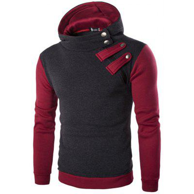 Fashion Casual Assorted Colors Hoodie for Men