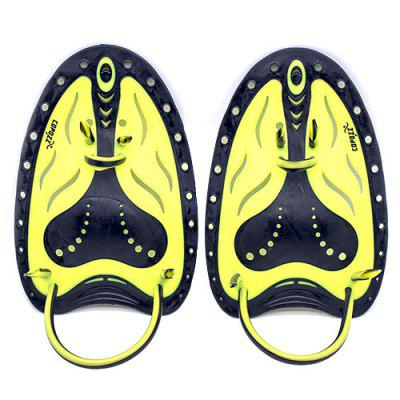 COPOZZ Pair of Professional Swimming Paddle Webbed Flippers