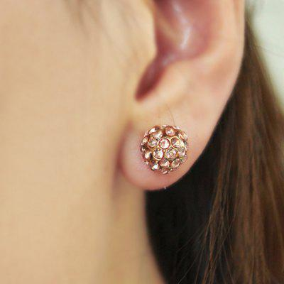 ER - 7202 Diamond Cone Stud Earrings for Girl Women
