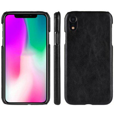 Hard Leather Protective Phone Case Cover for iPhone XR