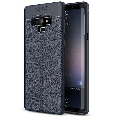 ASLING Litchi Grain PU Leather + TPU Phone Case for Samsung Galaxy Note 9