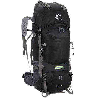 Free Knight Large Storage 60L Nylon Backpack for Mountaineering