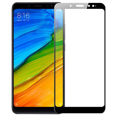 Naxtop Full Tempered Glass Screen Protector для Xiaomi Redmi Примечание 5 Pro / Note 5 Global Edition 2шт.