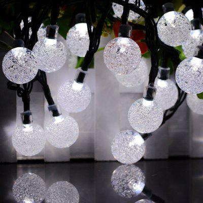 Solar Waterproof String Light voor Garden Christmas Decoration