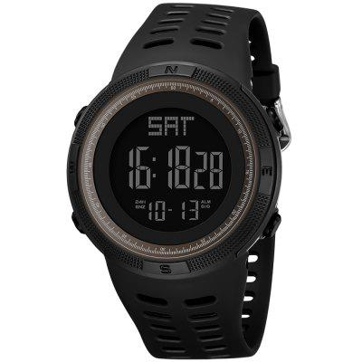 PANARS Digital Watch with Plastic Band for Men