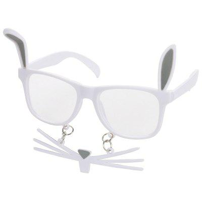 Wacky Rabbit Beard Decorative Eyeglasses
