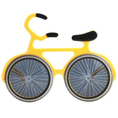 Environmental Wacky Bicycle Eyeglasses Decoration