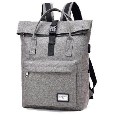 Fashion Chargeable Leisure Large Capacity Lap-top Backpack
