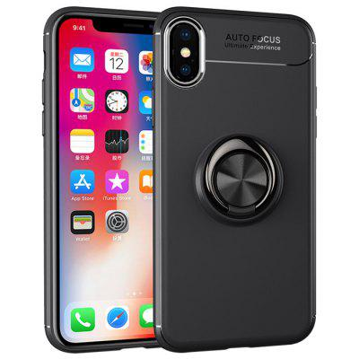 Buckle Ring Stand Phone Back Case dla iPhone XS Max