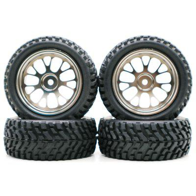 Wheel with Alloy Rim 4pcs