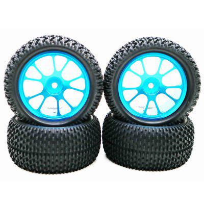 High Quality Wheel with Alloy Rim 4pcs