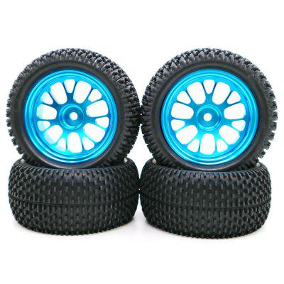 Tire with Alloy Rim 4pcs