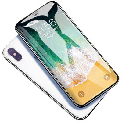 HD Antihechtende Gehard Glas Screen Protector voor iPhone XS Max