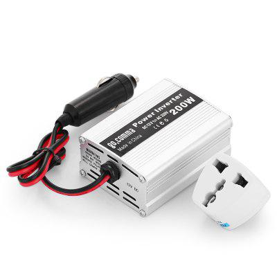 gocomma 200W Car Power Inverter Converter DC 12V to AC 220V with USB Port