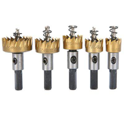 Hole Saws Tooth Cutter Drill Bit 5pcs