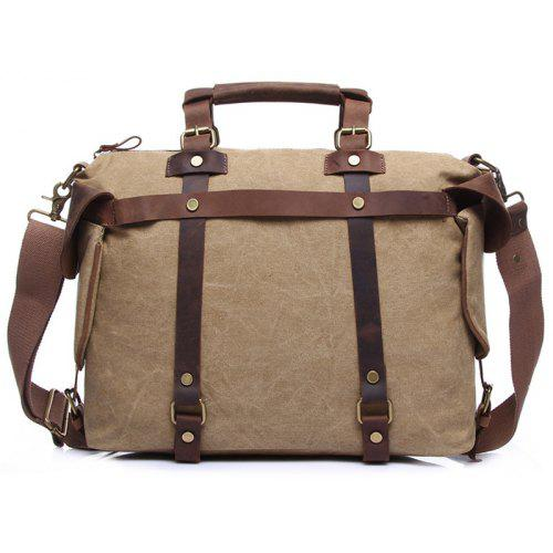 GFAVOR 1801 Crossbody Bag Large Capacity Canvas Handbag for Men ... c7f6eacf8c