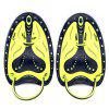 COPOZZ Pair of Professional Swimming Paddle Webbed Flippers - CORN YELLOW