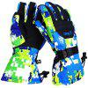 Copozz Winter Windproof Thicked Warm Gloves for Skiing - DODGER BLUE