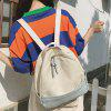 Fashion Cute Canvas Backpack for Women - LIGHT BLUE