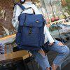 USB Charging Large Capacity Leisure Student Outdoor Travel Backpack - LAPIS BLUE
