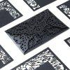 Hollow Lace Greeting Card for Birthday Christmas - BLACK
