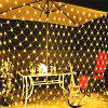 3 x 2m LED Starry String Light Waterproof Fishing Net Lights for Christmas Wedding Outdoor Decorative - TRANSPARENT