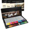 Deli Water-soluble Colored Pencil 48PCS - MULTI