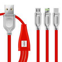 Earldom Three In One Data And Charging Cable For iPhone And Android And TYPE-C