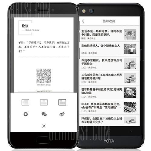 Gearbest Yota YotaPhone 3 4G Phablet English and Chinese Version