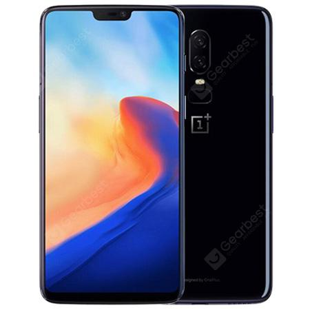 OnePlus 6 A6000 4G Phablet 8GB RAM 128GB ROM International Version - Mirror Black