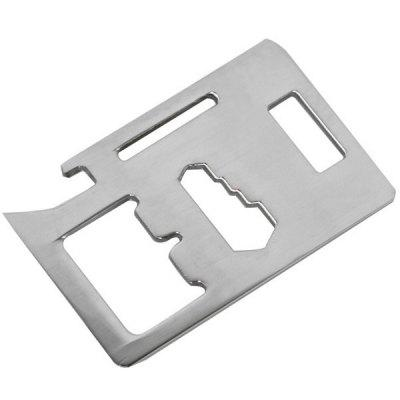 Outdoor EDC Multifunctional Tool Card for Camping Hiking Venturing
