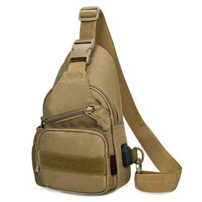 Coyote Brown Tactical Army Fan Chest Bag