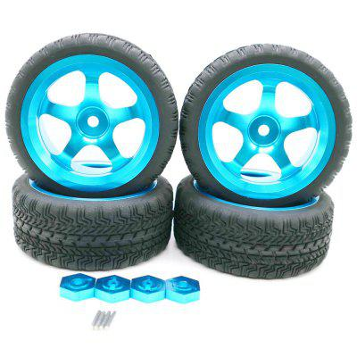 High Quality Tire with Alloy Rim 4pcs