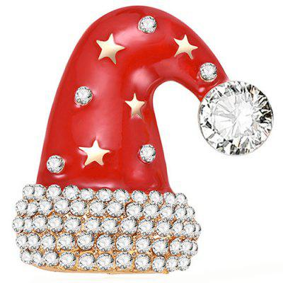Christmas Hat Style Beautiful Brooch for Women
