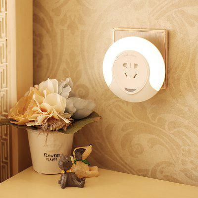 CH002 Light Control Socket Night Light for Indoor Use