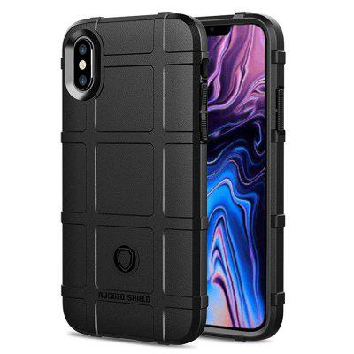 Custodia rigida in TPU Naxtop Full Body Shield Cover per iPhone XS Max