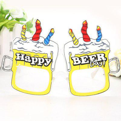 Beer Glass Glasses Festival Props Party Supplies