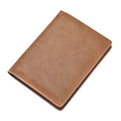 JINBAOLAI Male Fashionable Leather Wallet