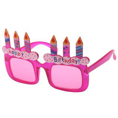 Women's Cute Glasses Toy Creative Sunglasses for Birthday Party