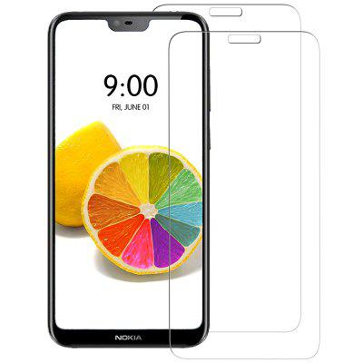 Naxtop Tempered Glass Screen Protector for Nokia 6.1 Plus/ X6