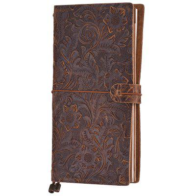 Retro Leather Travel Creative Diary Notebook