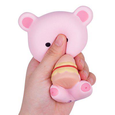 Cartoon Bear Squishy Toy Slowrebound Stress Reliver with Fragrance