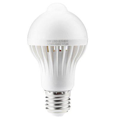 E27 5W Human Body Induction Bulb for Home