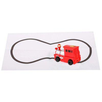 Magic Inductive Toy Car Follow Black Lines for Kids