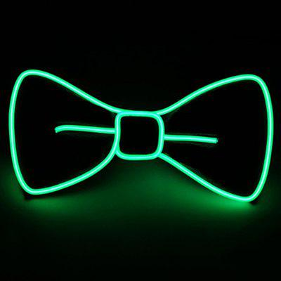 EL Cold Light Glow Bow Tie Cravat