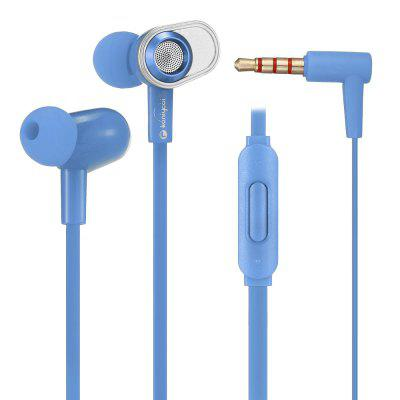 KJ - 899 3.5mm Wired Subwoofer Earphone In-ear Earbuds with Mic for Mobile Phones