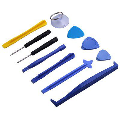 Multifunction Unlocking / Repair Maintain Disassembly Tool for Mobile Phone 11pcs