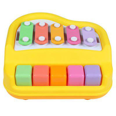 2-in-1 Knock Piano Educational Toy