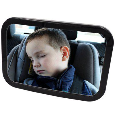Rotatable Car Safety Reverse Back Seat Rear View Mirror Headrest Baby Monitor